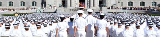 Plebes swearing in on I-Day